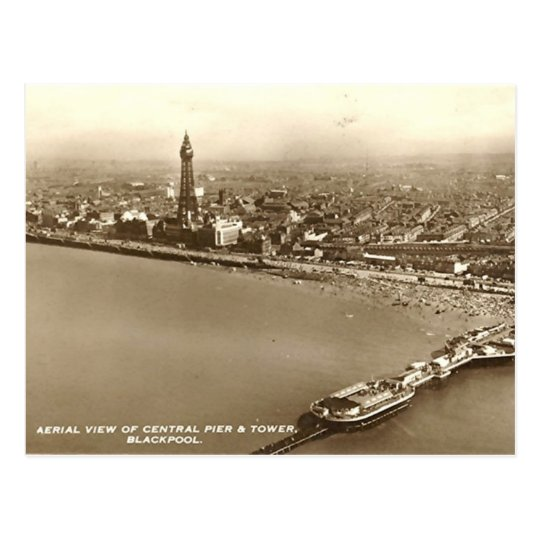 Postal Blackpool del aire