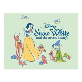 Postal Blanco como la nieve y narcotizado con los amigos