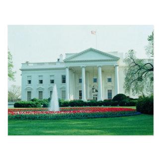 Postal Blanco la Casa Blanca, Washington, C.C., los