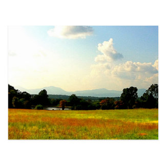 Postal Blue Ridge Mountains