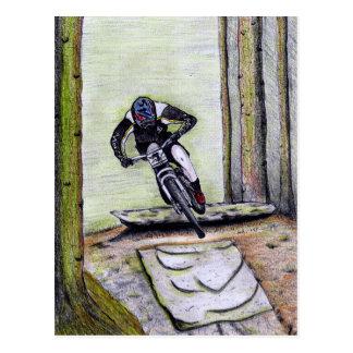 Postal Bmx del mtb de Llandegla de la bici de montaña