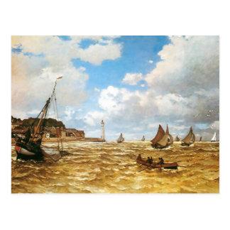 Postal Boca de Claude Monet del Sena