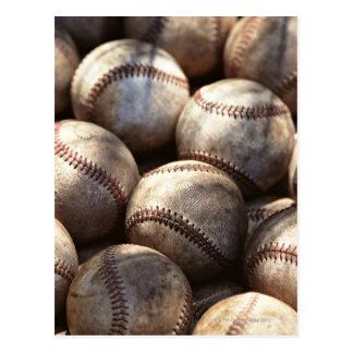 Postal Bola del béisbol