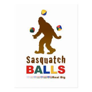 Postal Bolas de Sasquatch