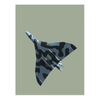 Postal Bombardero de Vulcan en vuelo