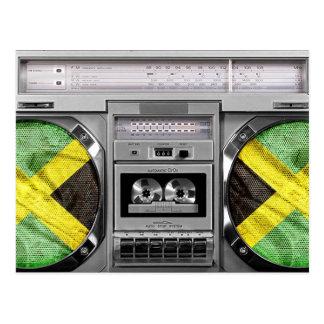 Postal Boombox de Jamaica