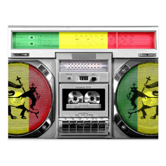 Postal boombox del reggae