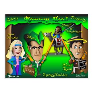 Postal Bosque de la capilla de Romney