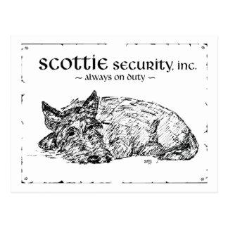 Postal ¿Bosquejo del escocés - seguridad?