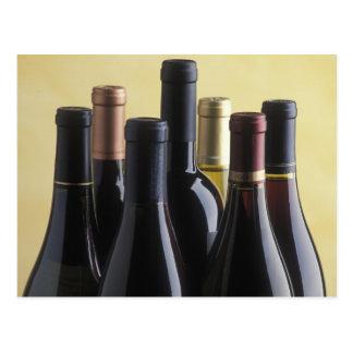 Postal Botellas de vino