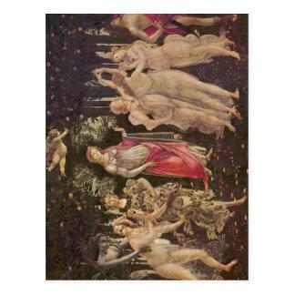 Postal ¿Botticelli, Sandro franco? el hling (Primavera):