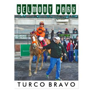 Postal Bravo y Javier Castellano del Turco