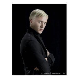 Postal Brazos de Malfoy del Draco cruzados