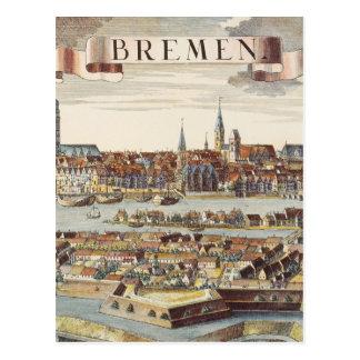 Postal Bremen, Alemania, 1719