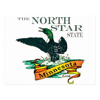 Postal Bribones del estado de la estrella del norte de