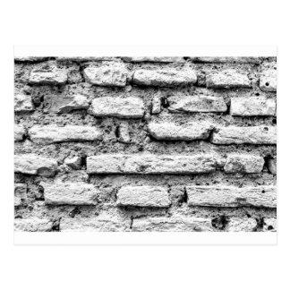 Postal Brickwall rústico