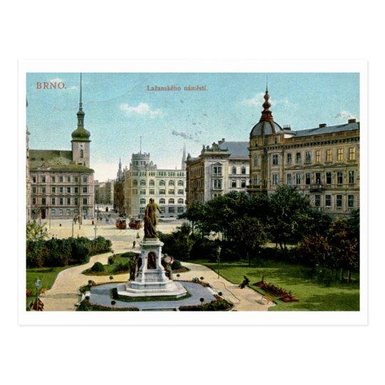 Postal Brno, vintage 1913 de la República Checa