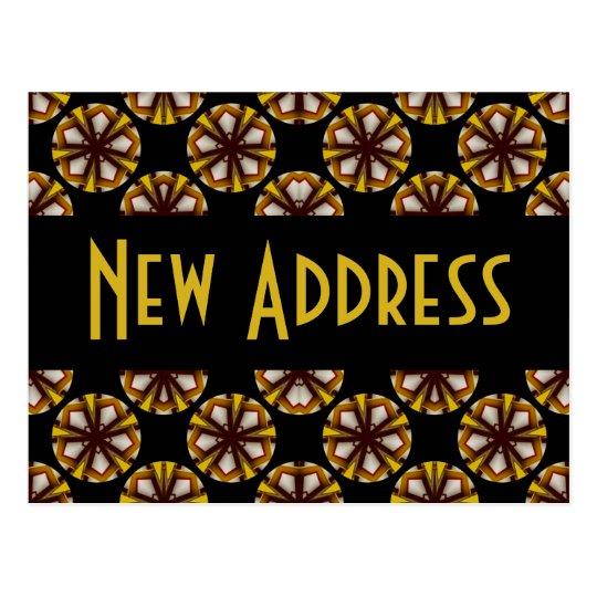 Postal Brown y dirección del amarillo nueva