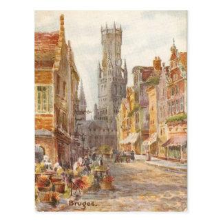 Postal Brujas, la torre de Carrillion