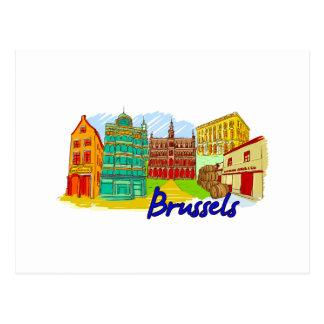 Postal Bruselas - Bélgica