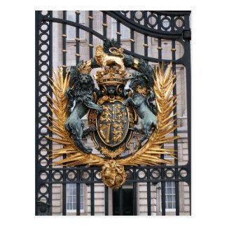 Postal Buckingham Palace Londres Inglaterra del escudo