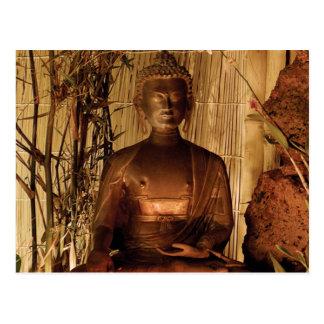 Postal BUDA: Estatua de cobre
