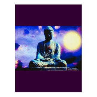 Postal Buda surrealista