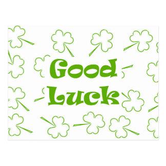 Postal Buena suerte irlandesa