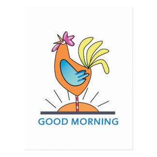 Postal Buenos días