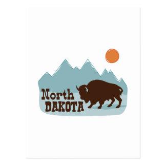 Postal Búfalo de Dakota del Norte