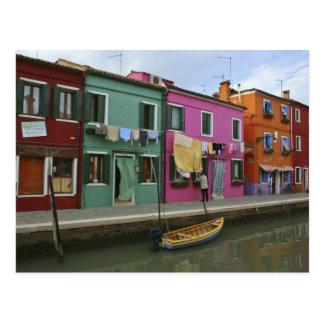 Postal Burano, Italia
