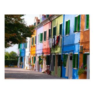 Postal Burano-Venetia
