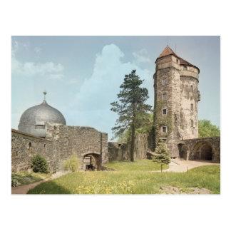 Postal Burg Stolpen, torre de Cosel