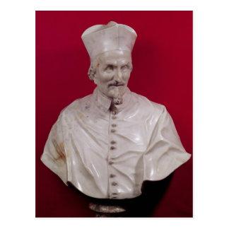 Postal Busto de Francisco cardinal Barberini