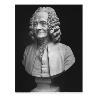 Postal Busto de Voltaire