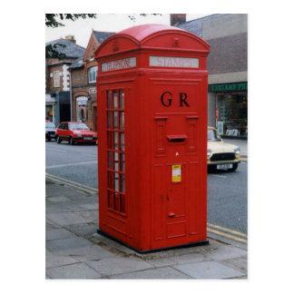 Postal Buzón británico 1929 de George V