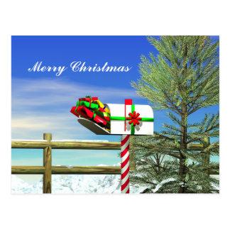 Postal Buzón del navidad