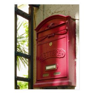Postal Buzón rojo