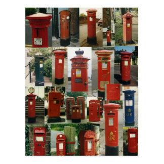 Postal Buzones de correos británicos