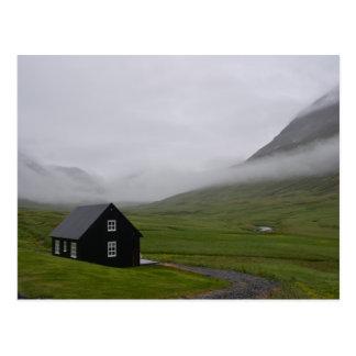 Postal Cabaña islandesa