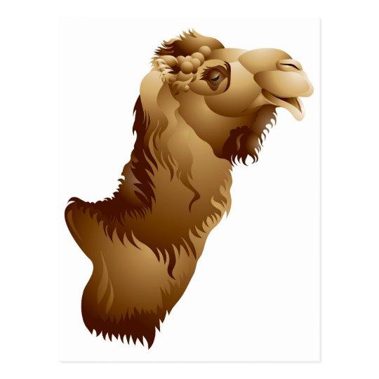 Postal Cabeza del camello