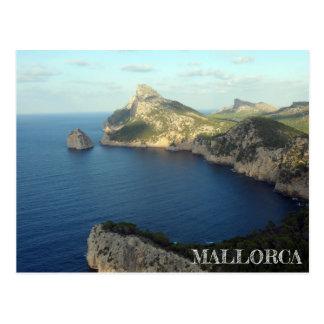 postal Cabo de Formentor en la isla de Mallorca