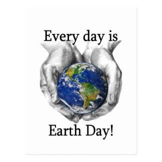 Postal Cada día es Día de la Tierra
