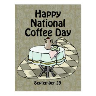 Postal Café día 29 de septiembre nacional