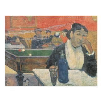 Postal Café en Arles, 1888