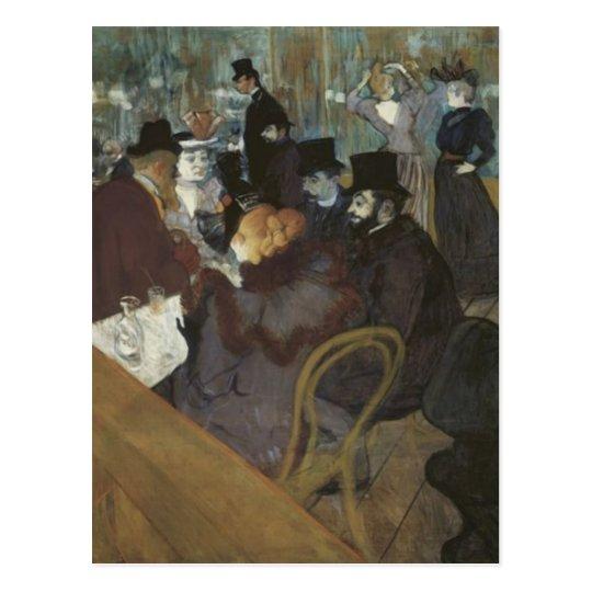 Postal Café parisiense