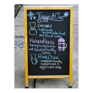 Postal Cafetería de Tazza D'Oro, Highland Park