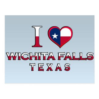 Postal Caídas de Wichita, Tejas