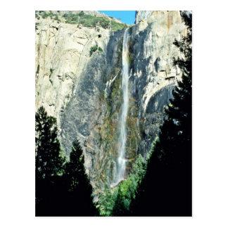 Postal Caídas nupciales del velo - parque nacional de