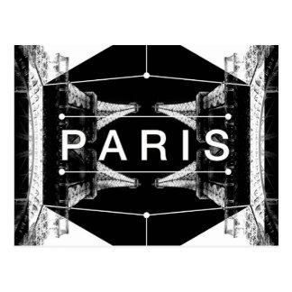 Postal Caleidoscopio de París del ANUNCIO
